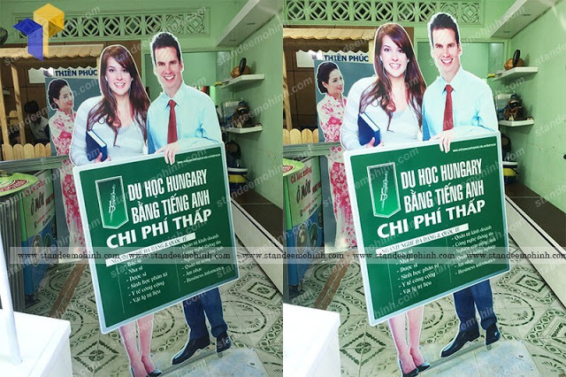 standee mo hinh nguoi 2d