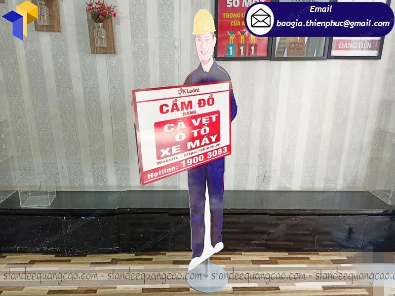 standee mô hình người giá rẻ